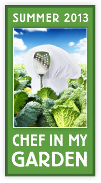 2013 Chef in my Garden dinner series: Garden to Table. Tickets on sale here