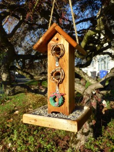 Hand Crafted Bird Feeder